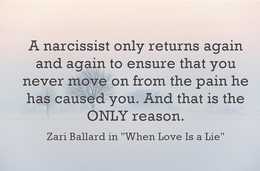 Has the Narcissist Really Moved On Like Nothing Happened