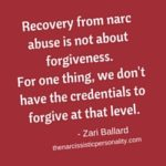 Narcissist Abuse & The Truth About Forgiveness